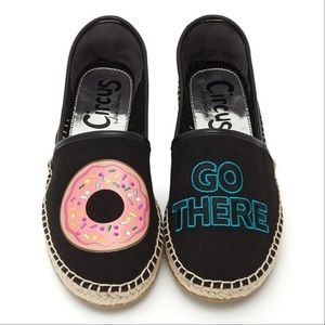 Donut Stop Me Slip On Espadrille